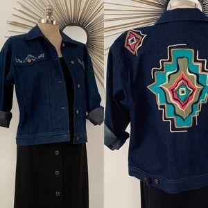 Jackets & Blazers - 90's vintage jean jacket